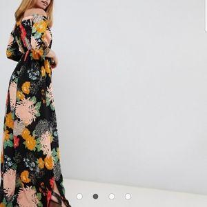 Glamorous Dresses - NWT Off the Shoulder Maxi Dress